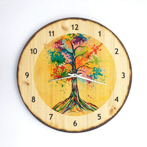 Tree Of Life - Wooden Clock