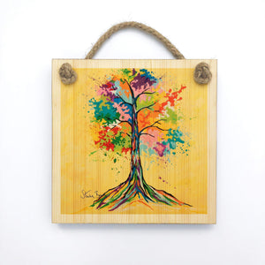 Tree Of Life - Wooden Wall Plaque