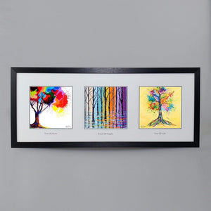 Triptych Of Trees Collection - Triptych