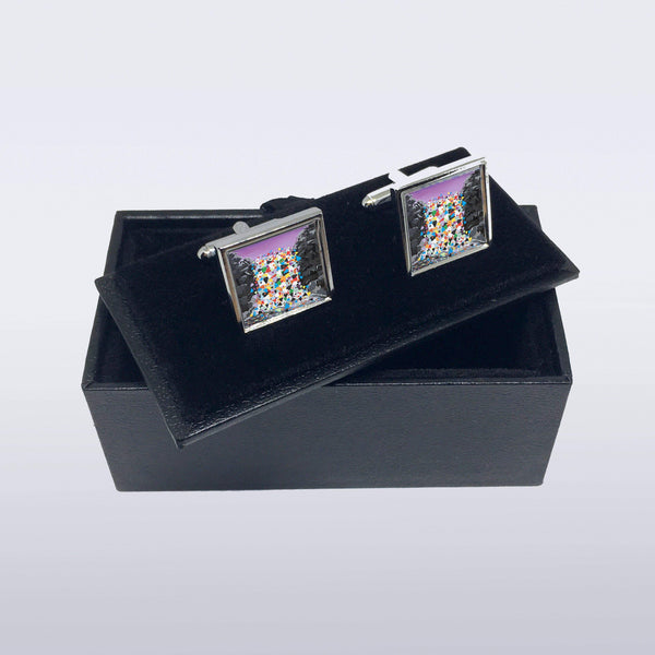 Waterfall Hearts - Cufflinks