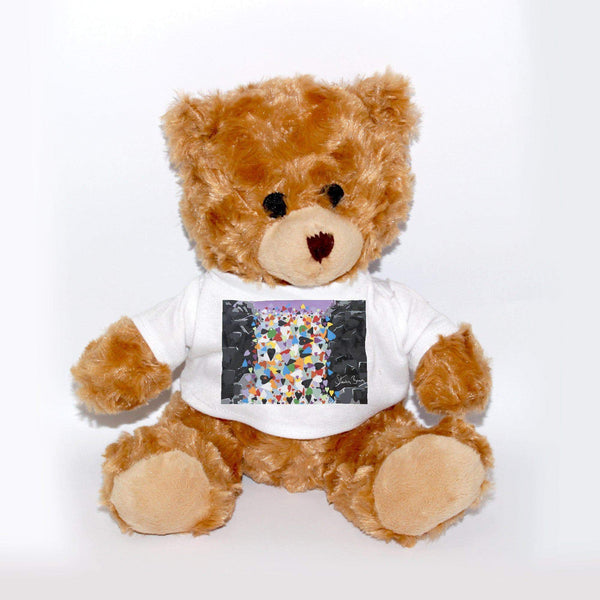 Waterfall Hearts - Teddy Bear