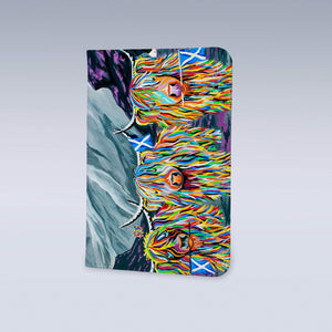 William Rabbie & Wallace McCoo - Passport Cover