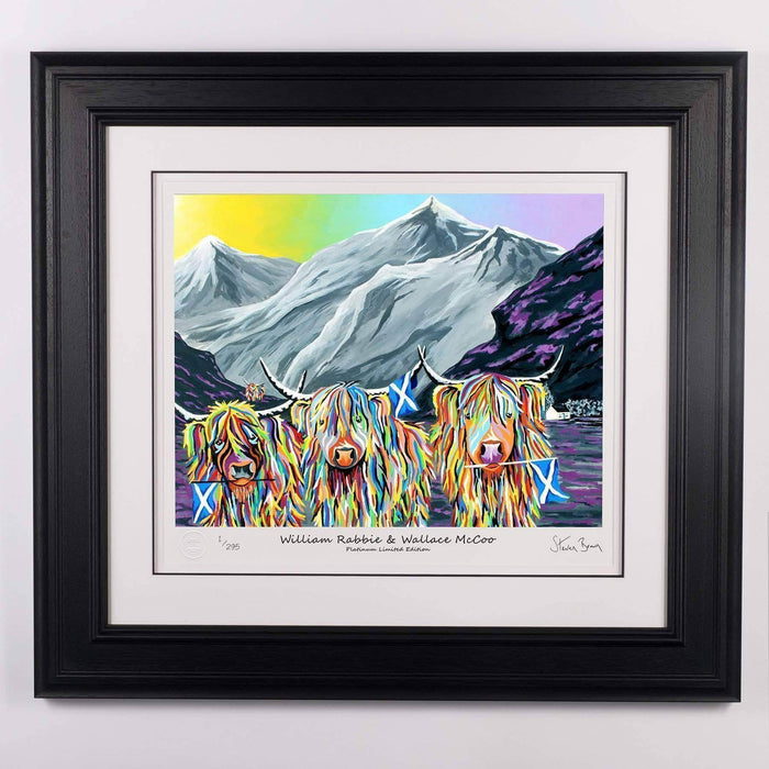 William Rabbie & Wallace McCoo - Platinum Limited Edition Prints