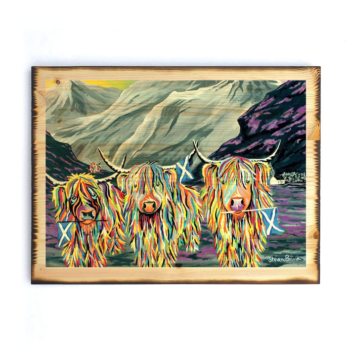 William Rabbie & Wallace McCoo - Timber Print