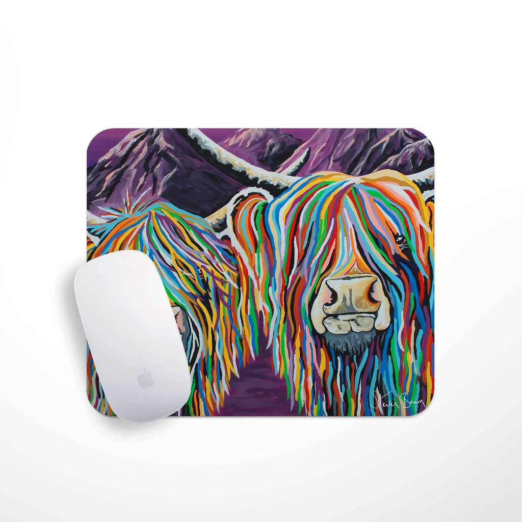 Wullie & Maggie McCoo- Mouse Mat