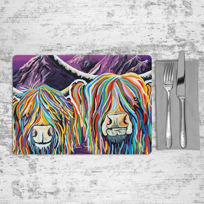 Wullie & Maggie McCoo - Placemat