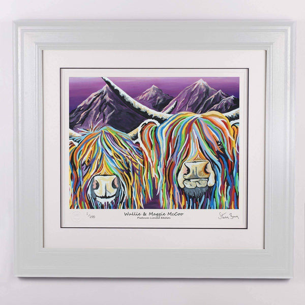 Wullie & Maggie McCoo - Platinum Limited Edition Prints