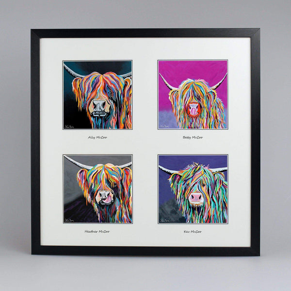 Your Favourites Collection - Quad Framed