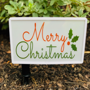 Eternal Light Holiday Sign (Plus 5 holiday design inserts)