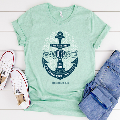 Anchor for the Soul Short Sleeve Shirt
