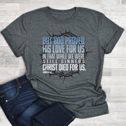Christ Died For Us Short Sleeve Shirt