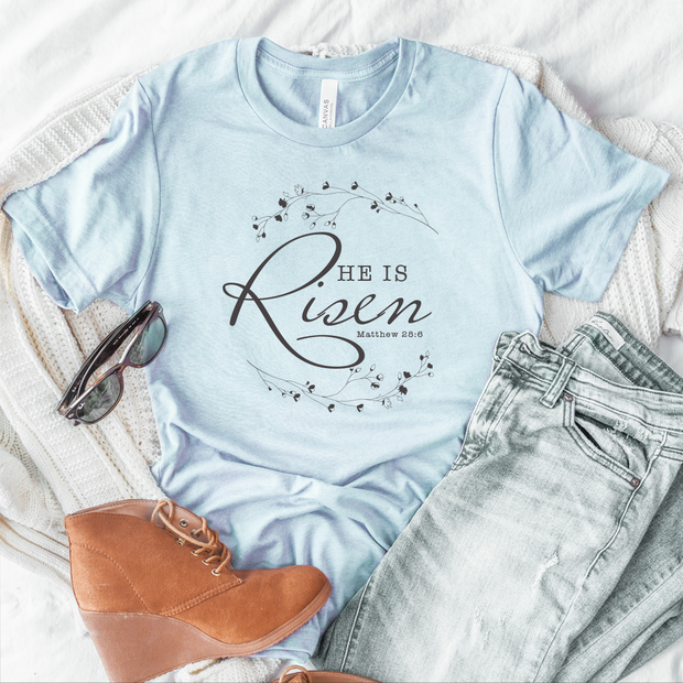 He is Risen Short Sleeve Shirt