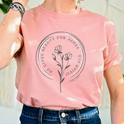Beauty For Ashes Short Sleeve Shirt