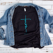 Faith Cross Short Sleeve Shirt
