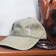 Cross Hat (Pigment Dyed)