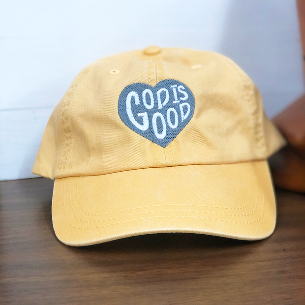 God is Good Hat (Pigment Dyed)