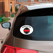 Married To A Hero Decal