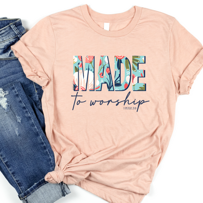 Made To Worship Short Sleeve Shirt