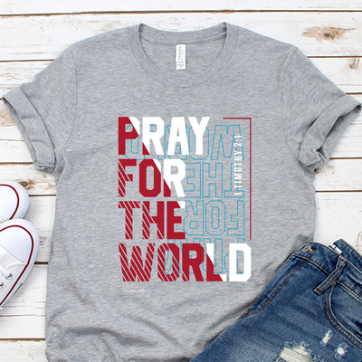Pray for the World Short Sleeve Shirt