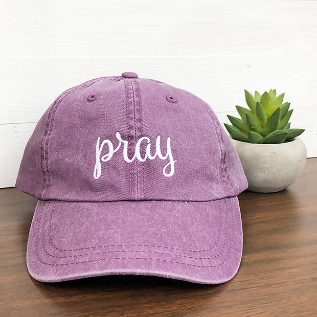 Pray Hat (Pigment Dyed)