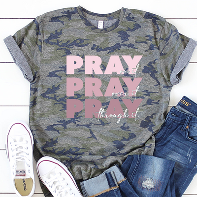 Pray Pray Pray Short Sleeve Shirt
