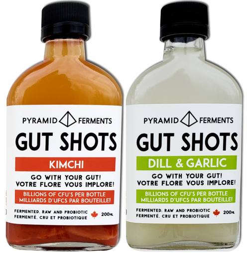 GUT SHOTS - FERMENTED, RAW & PROBIOTIC