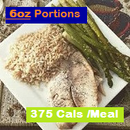Tilapia, Asparagus & Brown Rice