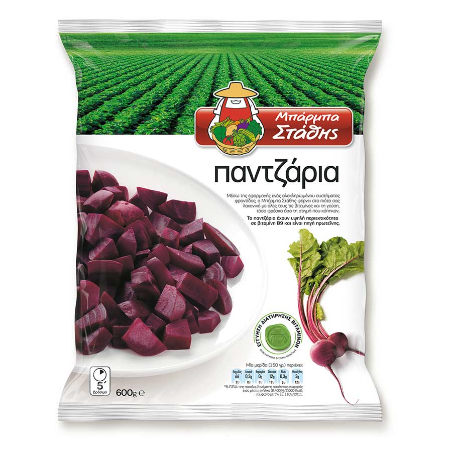 BARBA STATHIS BEET ROOTS 600G