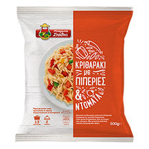 BARBA STATHIS ORZO WITH PEPPERS AND TOMATO 500G