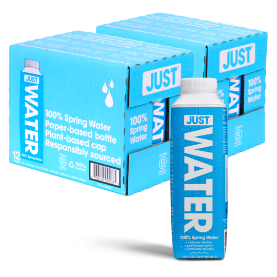 CASE JUST WATER 500ML  X 12