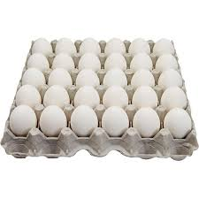 LARGE WHITE EGGS, CAGE FREE TRAY OF 30