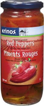 ROASTED RED PEPPERS 500ML