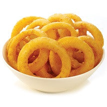ONION RINGS - BATTERED
