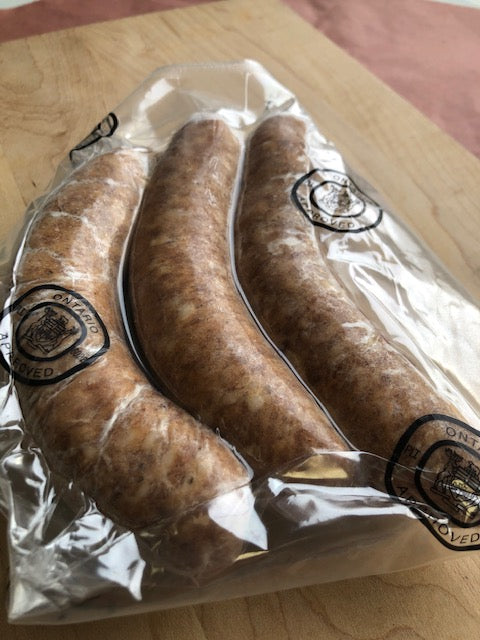 SWEET ITALIAN PORK SAUSAGES - 4/PK