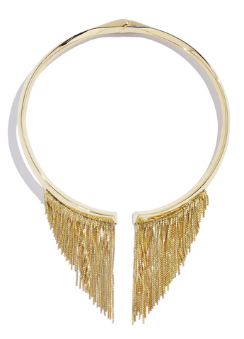 Electric Fringe Collar by Sarah Magid Jewelry