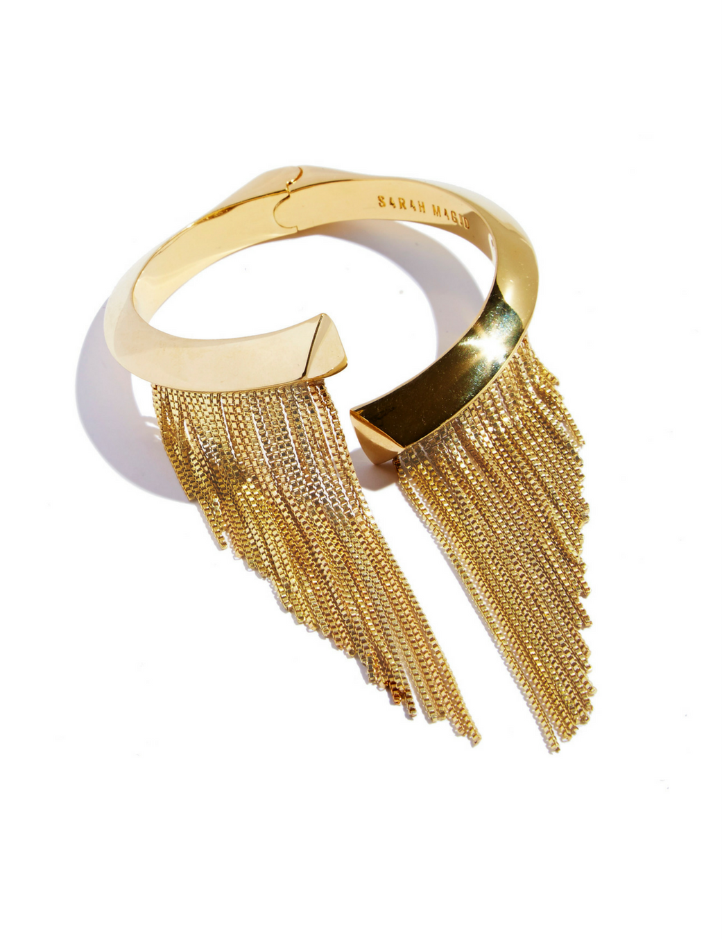 Electric Fringe Cuff by Sarah Magid Jewelry