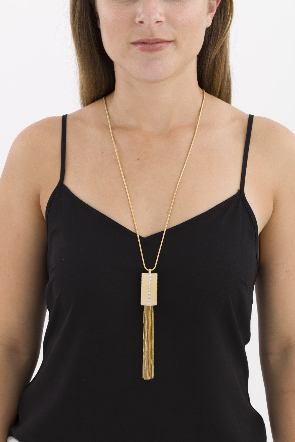 Electric Tassel Pendant by Sarah Magid Jewelry