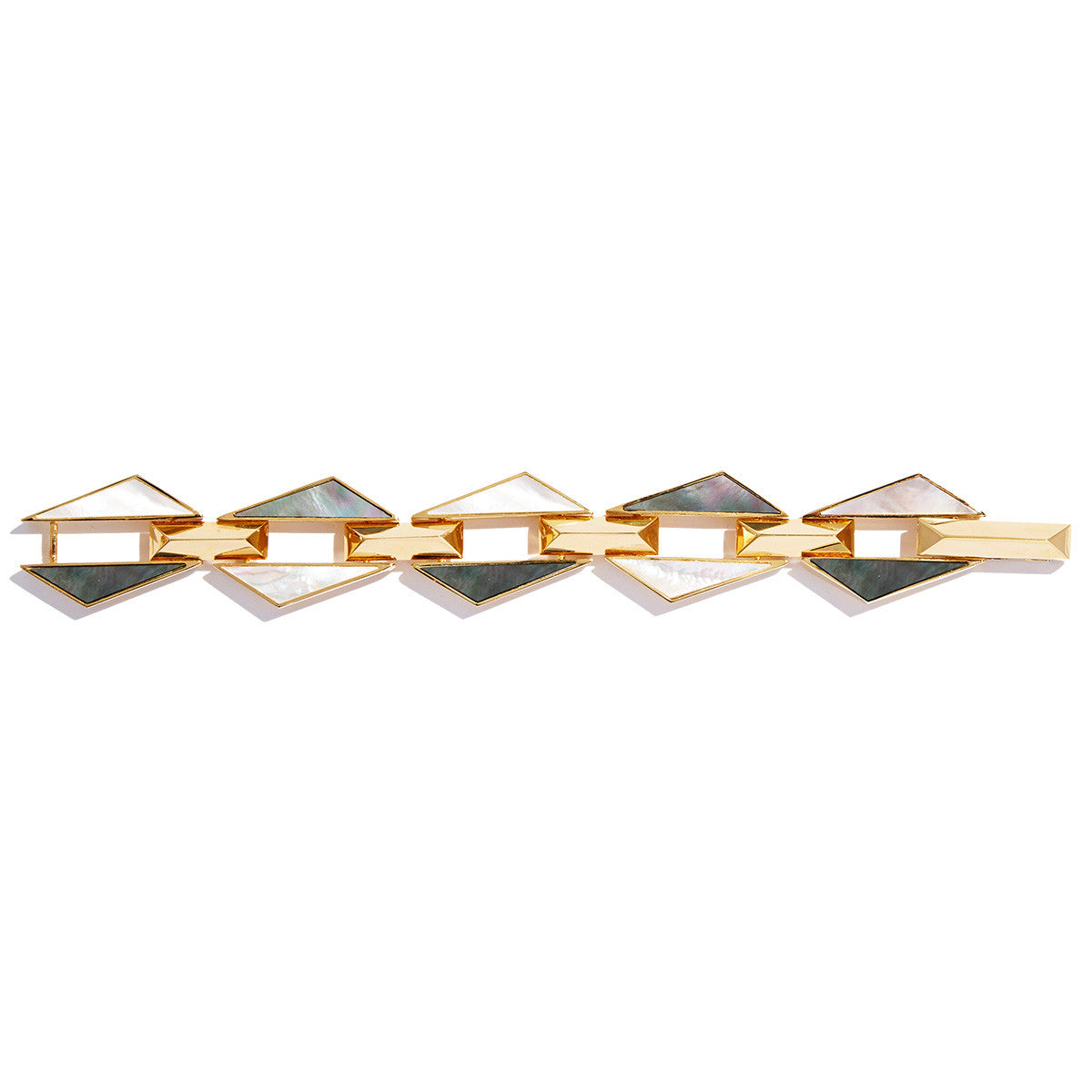 Graphic Jagged Bracelet by Sarah Magid Jewelry