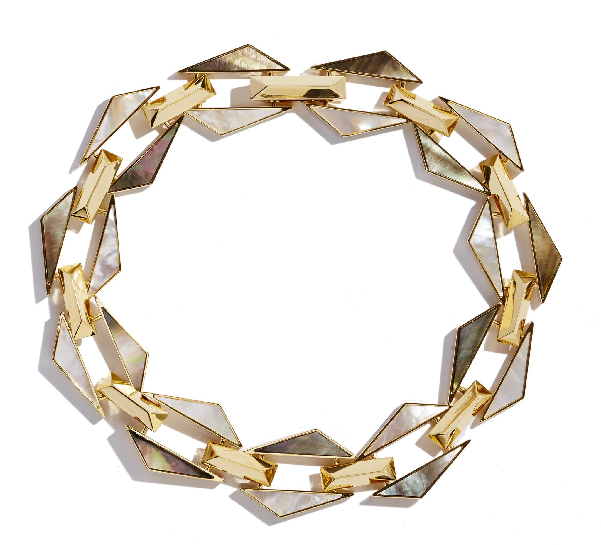 Graphic Jagged Necklace by Sarah Magid Jewelry