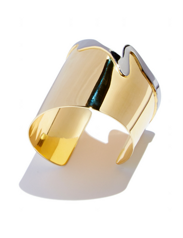 Melted Cuff by Sarah Magid Jewelry