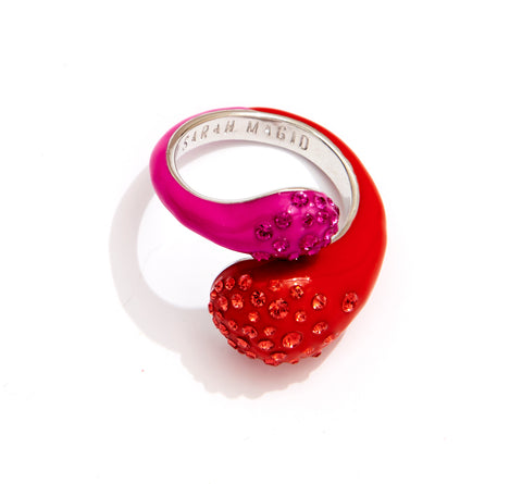 CANDY DROP RING COSMO PINK