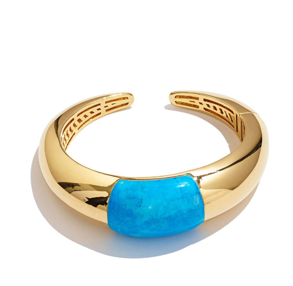 TURQUOISE BUBBLE CUFF