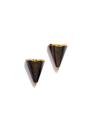 MINI CONE STUD - BLACK MOP