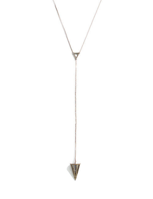 Caged Cone Y Necklace by Sarah Magid Jewelry