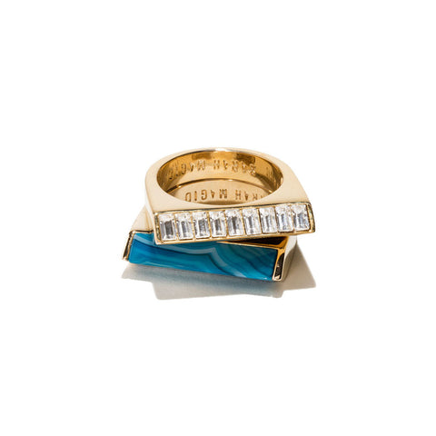 Sunset Duo Rings by Sarah Magid Jewelry