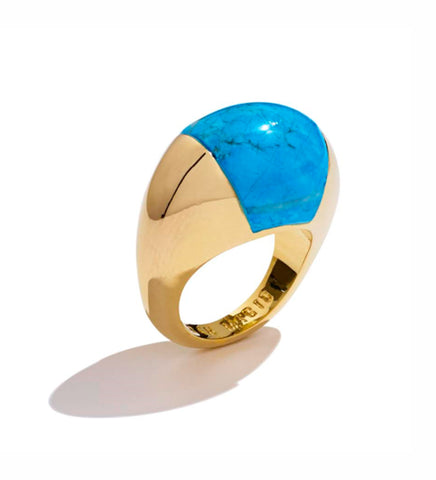 TURQUOISE BUBBLE RING