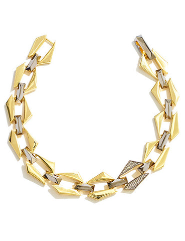 JAGGED CHAINLINK NECKLACE