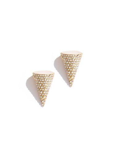 Mini Pave Cone Studs by Sarah Magid Jewelry
