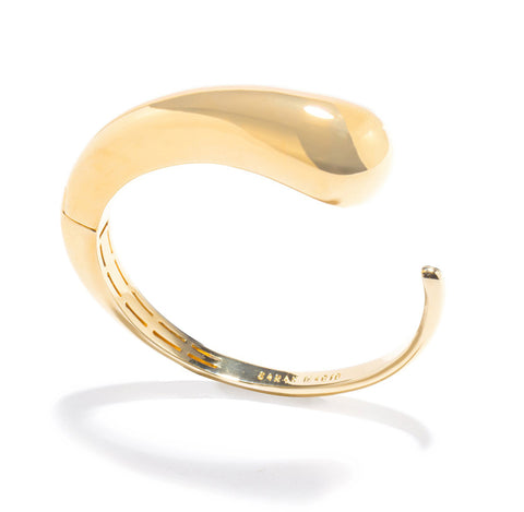 GOLD DROPLET CUFF
