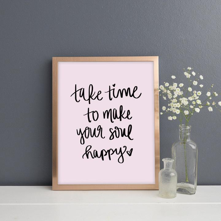 MAKE YOUR SOUL HAPPY PRINT | SWEET WATER DECOR